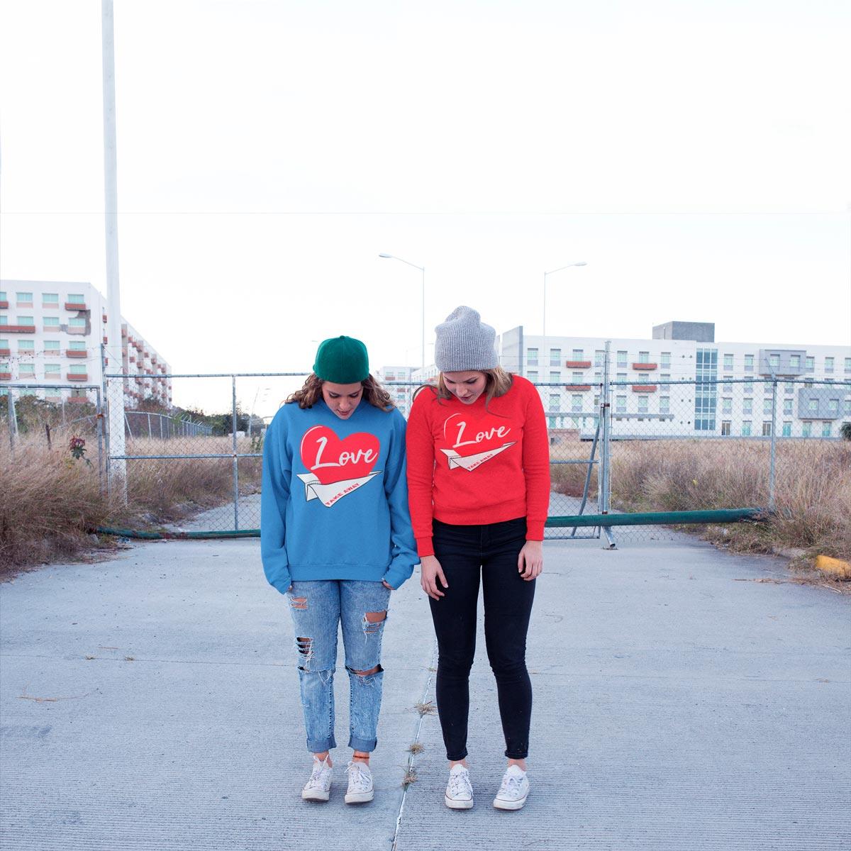 original Graphic sweatshirts mono y mona