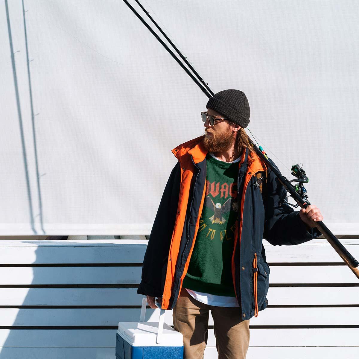 Cool men's Graphic sweatshirts mono y mona